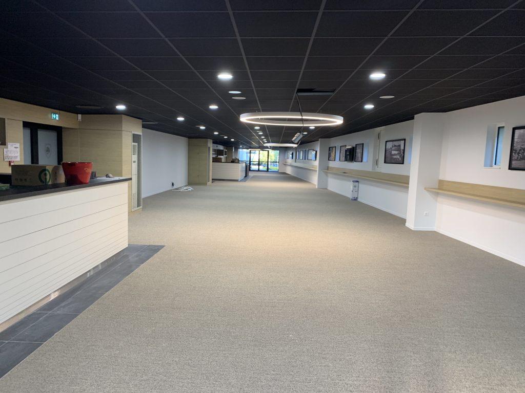 Création d'un espace VIP au stade Marcel Deflandre